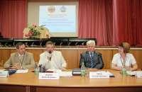"""Президиум межрегионального круглого стола """"Развитие системы внешнего финансового контроля"""" (2011 год)<br>"""